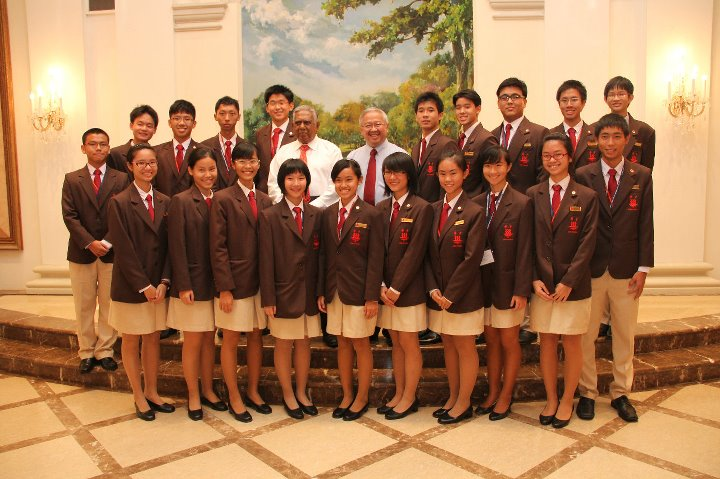 2011 With the President of Singapore - APYLS