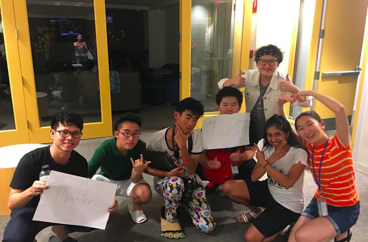 FutureHACKのチーム作りは大人によるアサインではなく、参加者それぞれが働きたいと思う人間をリクルートする制度である。
