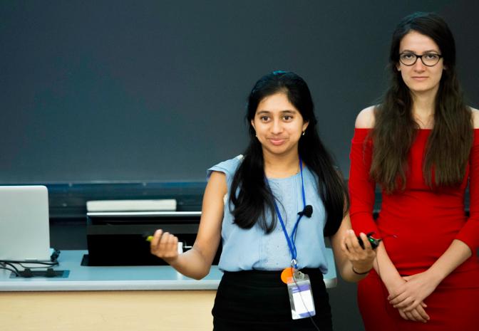 美桜のルームメイトのスーパー女子高生、キタ(Ankita)。 インド系アメリカ人で、16歳なのに自分のNPOを持っていたり、日本語がペラペラだったり、クイズ大会でテレビ出演したりしている。