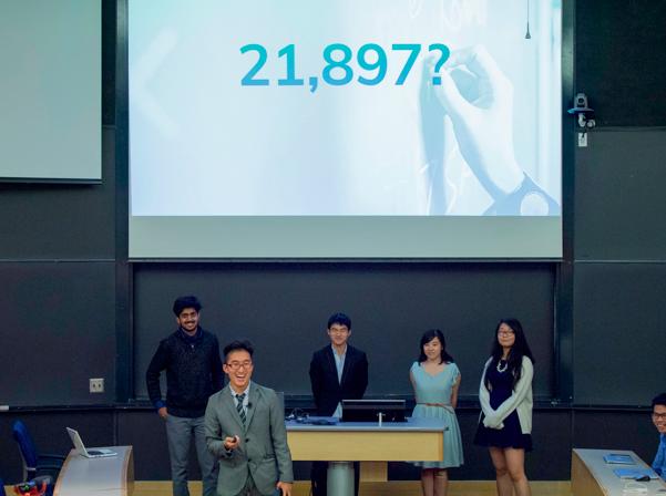 美桜の所属チームTruffleは、日本の自殺者を減少させるためのアプリを開発し、日本の企業人事課への売り込みも実現させている。