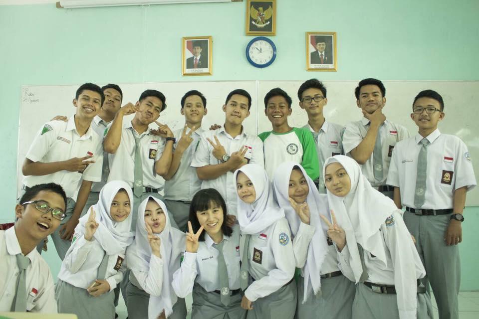 インドネシア留学では現地の友人との深く関わることができました
